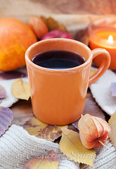 Autumn. Coffee. (Katty-S) Tags: autumn orange fall cup coffee mug