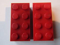 LEGO: LEGOland California, rust and red? (maxx3001) Tags: new original red color brick colors dark real rust lego bricks molding mold abs farbe 2x4 reddish bayer 4x2 3001 2x4brick thelegogroup