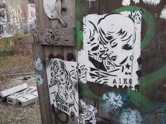 Berlin street art, Aiko (duncan) Tags: berlin streetart graffiti aiko ladyaiko girl