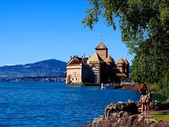 El Castillo (Jesus_l) Tags: europa suiza lagoleman jesusl castillodechilln