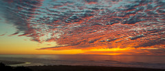 Pacific Ocean Sunset (stephencurtin) Tags: ocean california sunset reflection beach clouds river coast sand pacific trinidad unanimous thechallengefactory