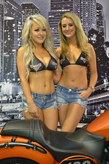 Victory Motorcycle Babes Kate Elizabeth Bray & Michelle Westby (Tanvir's Pics 2010) Tags: birmingham day elizabeth kate live michelle victory motorcycle opening bray nec westby 2013