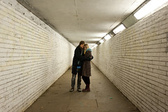 (evilibby) Tags: dave night underpass evening couple tunnel libby 365 1732 271 365days 3656 365days6