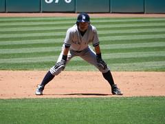 Ichiro Suzuki (david-shank) Tags: ohio japanese baseball cleveland yankees clevelandindians allstar newyorkyankees mlb pinstripes clevelandoh americanleague bronxbombers majorleaguebaseball outfielders progressivefield baseballallstars
