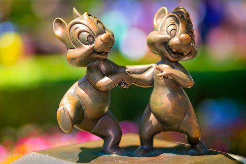 Chip and Dale you color my world