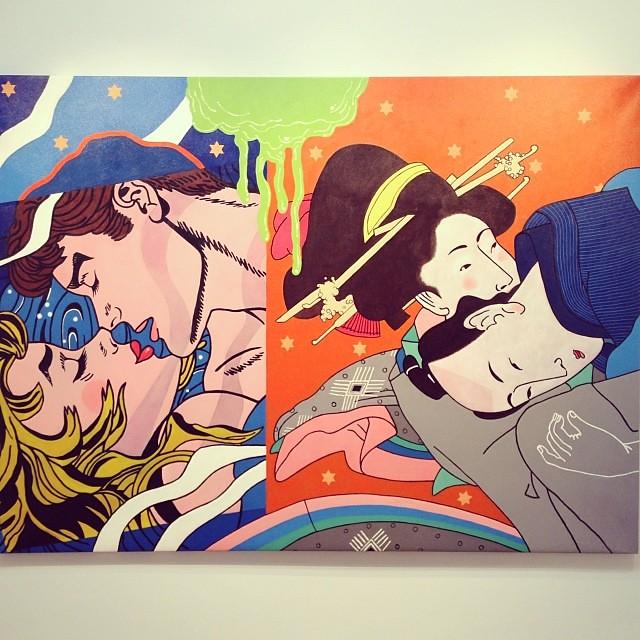 """""""El Amor entre Latitudes"""" • """"El Diálogo, el Pastiche y la Memoria"""" #muestra individual de Ramiro Pareja Herrera #arte #arteenlima #art #artinlima #artist #artista #pintura #painting"""