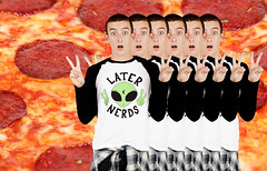 PIZZA (Amber B Dianda) Tags: life fashion photography is joke aliens nerds uncool later dirtbag jacvanek kriskidd amberbdianda amberbphotography amberbdiandaphotography amberbcreatecom