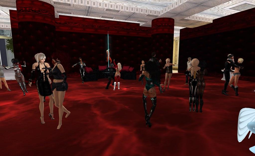 busty goth girls gif