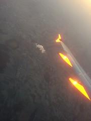 Easyjet - out the window (Roadsternumber6) Tags: christmas sunrise germany market dusseldorf easyjet