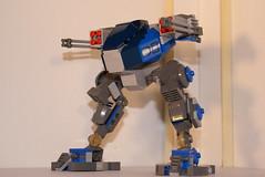 Walker (lordd3struct0r) Tags: star lego walker lasers wars rockets mecha mech