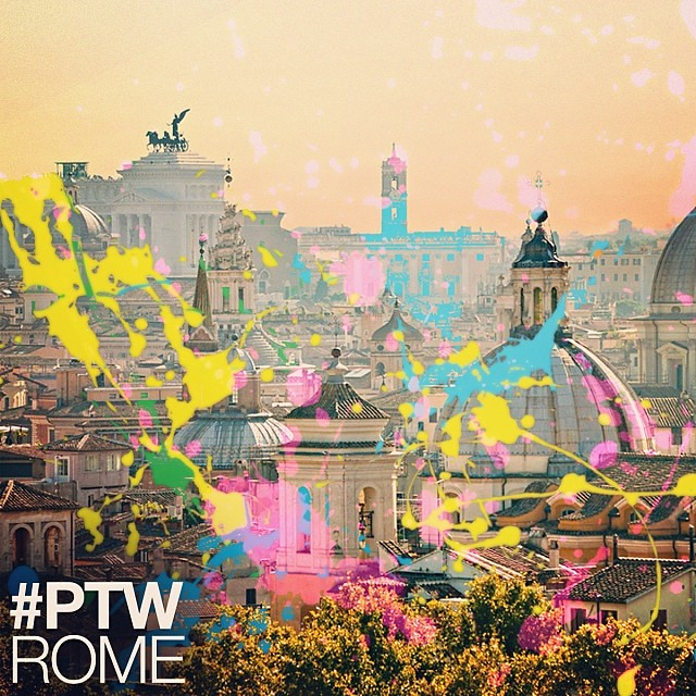 #PaintTheWorld Rome / New single out January 7th