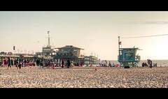Santa Monica Pier (OC Photographie) Tags: ocean california santa usa beach america canon movie pier us los sand photographie angeles united north sable monica theme states oc effect plage hdr nord unis jete californie effet amrique etats cinematographique