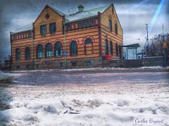 (C.Bry@nt) Tags: street snow calle gate sweden nieve gata sverige scandinavia scandinavian suecia iphone skandinavia strömstad skandinavian iphone5 iphoneography