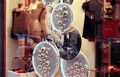 Riflessi (nuamba) Tags: street people color film mirror kodak napoli ricoh kr10x nuamba