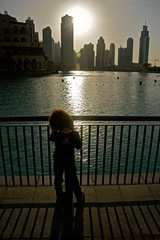 Skyline Sunset, Dubai, UAE (In4ocus) Tags: sunset skyline dubai uae tallestbuildingintheworld burjkhalifa