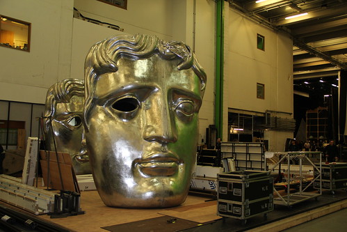 Royal Opera House prepares to roll out the red carpet for the 2014 BAFTAs