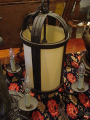 "ART DECO HANGING LANTERN. • <a style=""font-size:0.8em;"" href=""http://www.flickr.com/photos/51721355@N02/12525842294/"" target=""_blank"">View on Flickr</a>"