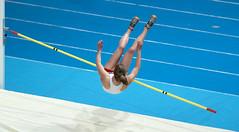 P2162750 (roel.ubels) Tags: sport high jump indoor omnisport apeldoorn nk 2014 atletiek hordelopen meerkamp hoogspringen
