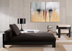 Acrylbild Tears on Horizon abstrakt (Wandbilder Antoniya Slavova Art) Tags: wien modern abstrakt acrylbilder slavova