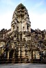 South West Size-Reduced Corner of Angkor Wat's Top (Patumraat) Tags: world old travel holiday building tourism architecture wonder thailand temple ancient cambodia vishnu god religion ruin culture buddhism siem classical civilization wat hindu asean reise reab
