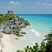 Tulum Beach and Mayan Ruins, Yucatan Peninsula Mexico