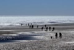 Skegness Beach (rsherwoodpix) Tags: sea coast nikon sigma reflect 70300 d3100