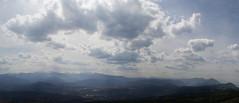 Vodno, Macedonia (Gadjowsky) Tags: sky panorama nature clouds landscape nikon pano macedonia photomerge cloudporn skyporn d5100