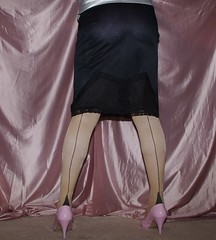 Berkshire half slip (gingers.secret) Tags: stockings highheels lace lingerie half slip lacy garterbelt halfslip