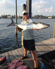 Captain Rex Williams with at Wahoo (saltydogfishingcharters) Tags: