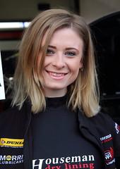 BTCC Brands Hatch Indy Mar2014_17 (evo432) Tags: girls march models btcc brandshatch gridgirls 2014 pitgirls promogirls catmilton