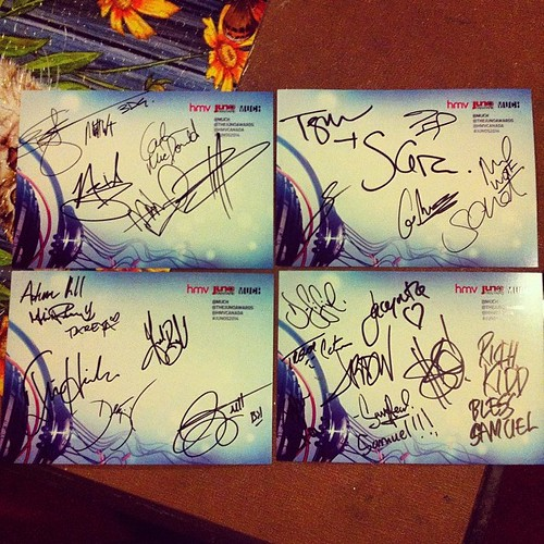 I still can't believe I was a VIP at Juno Fan Fare 2014 and got to meet every musician at all four tables! #JUNOS2014