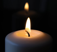 Candle (Plump Panda Photography) Tags: canon candle flame 1855mm t3