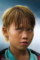 The Cinnamon Boy (sspetrov) Tags: pink blue boy red wild face look field yellow one kid eyes vietnamese village natural cinnamon young tribal dirty vietnam human mature surprise only worker pure curiosity serap sabah 500px ifttt