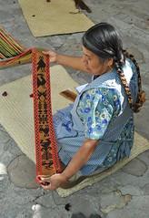 Mexico Oaxaca Weaver Tejedora (Ilhuicamina) Tags: mexico gente mexican oaxaca weaver textiles loom fabrics tejidos zapotec telar tejedora jalieza