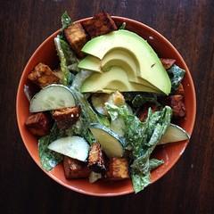 avocado caesar (gunstreet.girl) Tags: food cooking salad