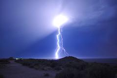 Light up the night (Great Salt Lake Images) Tags: summer utah antelopeisland greatsaltlake lightning ladyfinger bridgerbay