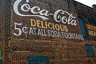 Coca Cola in the Alley