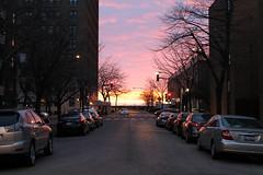 The Edge Of Morning (Flint Foto Factory) Tags: chicago illinois urban city winter february 2017 north edgewater nsheridanrd sheridan glenlake morning intersection dawn edge am daybreak clouds beautiful nature lakemichigan