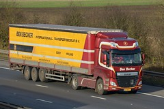 43-BDS-5 (panmanstan) Tags: daf cf wagon truck lorry commercial freight transport international haulage hgv vehicle m18 motorway langham yorkshire