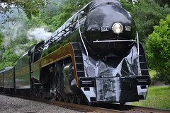DSC_0231 (Andy961) Tags: markham virginia va railway railroad train norfolkwestern nw classj steam locomotive engine 484 611