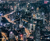 (Rob-Shanghai) Tags: city shanghai cityscape towers buildings dense china puxi yananlu night lights leica m240 75mm shanghaitower