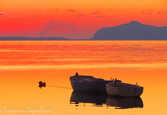 Togheter (Francesco Impellizzeri) Tags: trapani sicilia boats sunset ngc