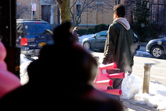 "Red Chair (Santos ""Grim Santo"" Gonzalez) Tags: fttt instagram red chair queens ny 2017 streetphotographer nycstreets newyorkcity newyorknewyork myfujifilm fujifilm picoftheday subway mta storyofthestreet nyspc gothamist citylife sooc ridgewoodqueens heartofqueens grimsanto nyc streetphotography nyclife flickr"
