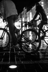 Cycle your life (mripp) Tags: art kunst cycling cycle fahrrad radfahrern mobility mobile mobilität urban city stadt stadtradeln retro vintage old black white mono monochrom regensburg bavaria bayern leica m20 summicron 50mm