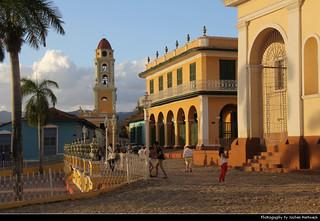 Plaza Mayor, Iglesia y Convento de San Francisco & Iglesia Parroquial de la Santísima, Trinidad, Cuba