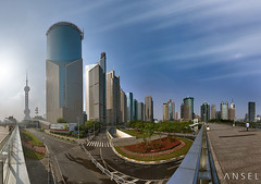 Megalomaniac (draken413o) Tags: china panorama architecture insane afternoon skyscrapers shanghai cityscapes evolution pudong 103 mega megapixels