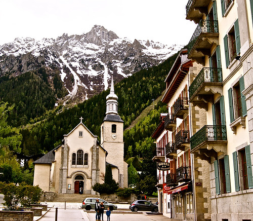 Church in Chamonix, France