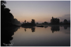 Reflets de Loire (Bruno-photos2012) Tags: loire brume refelts