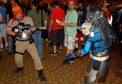 pcc13 (Kurt Colin) Tags: arizona phoenix costume mr freeze predator comicon 2013