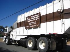 Ramona Disposal Service (Scott (tm242)) Tags: trash truck garbage body side company manual waste refuse bridgeport loader recycling peterbilt able edco burrtec